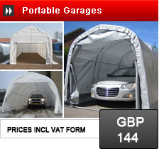 Portable Garages and Garage Shelters - storage solutions for cars