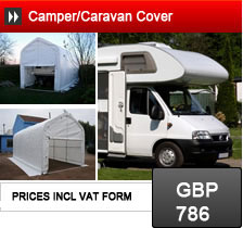 Camper Caravan Covers and Shelters, winter storage