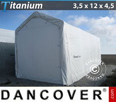 Portable Garage 3.5x12x3.5x4.5 m, White