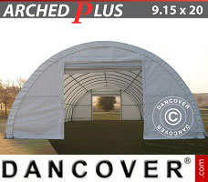 Portable Garage 9.15x20x4.5 m PVC, White