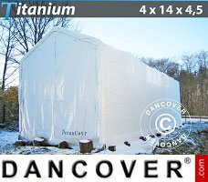 Portable Garage 4x14x3.5x4.5 m, White