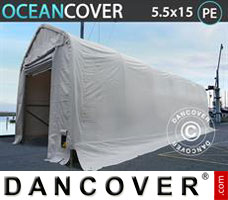 Portable Garage Oceancover 5.5x15x4.1x5.3 m