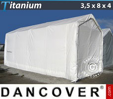 Portable Garage 3.5x8x3x4 m, White