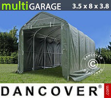 Portable Garage 3.5x8x3x3.8 m, Green