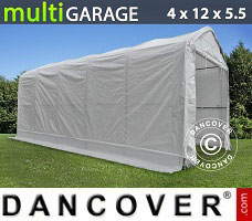 Portable Garage 4x12x4.5x5.5 m, White