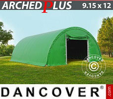 Portable Garage 9.15x12x4.5 m PVC, Green