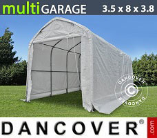 Portable Garage 3.5x8x3x3.8 m, White